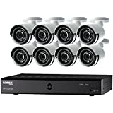 Lorex by FLIR LHA2000 16-Channel HD MPX DVR with 8x LAB223B 1080p Weatherproof 130 IR Camera and Pre-Installed 2TB HDD, FLIR Secure Connectivity