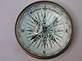 Brass compass antique maritime nautical boat compass ship compass hand made fully functional compass 3'