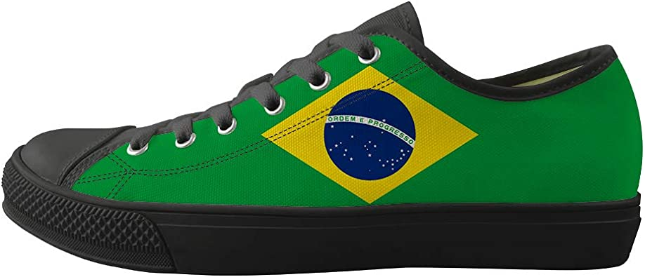 Canvas Low Top Sneaker Casual Skate Shoe Mens Womens Ontario Flag