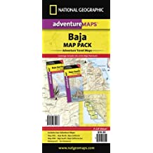 By National Geographic Maps - Baja California, Mexico, Map Pack Bundle Travel Maps International Adventure Map (Map) (7.3.2012)