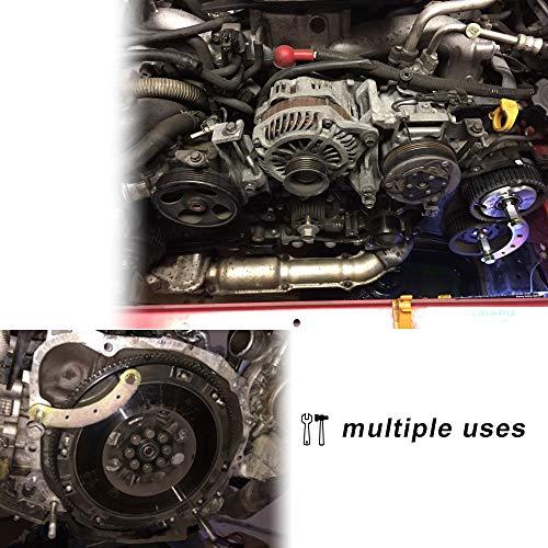 Sunluway Cam Gear Lock/Camlock Tool Wrench Holder Kit for Subaru Impreza WRX and WRX STI, Forester XT, Legacy GT, Outback XT, Saab 9-2X Aero, Baja by Sunluway (Image #2)