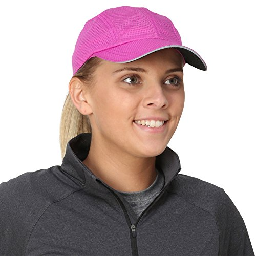 TrailHeads Women's Race Day Running Cap-Performance Hat - radiant - Visor Running Womens