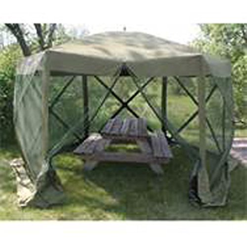Clam 1660 Mag 12 x12 Hub Screen Canopy  sc 1 st  Outdoor Store Online & 1660 Mag 12 x12 Hub Screen Canopy