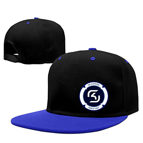 SK Gaming Hat Unisex-Adult Rap Ball Cap RoyalBlue