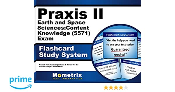 Praxis II Earth and Space Sciences: Content Knowledge (5571) Exam ...