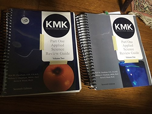 KMK NBEO Part I Review Guide, Applied Science, Diagnosis and Treatment price tips cheap