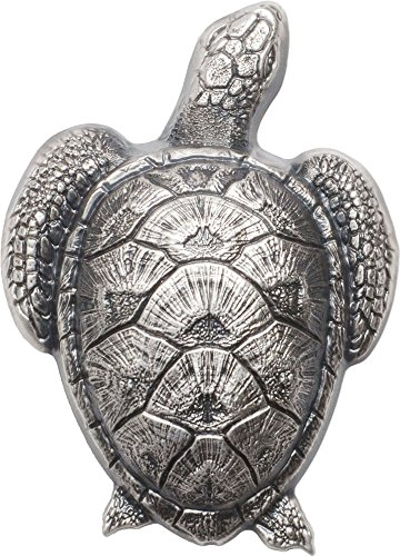 Shaped Silver Coin (2017 PW Natural Perspectives PowerCoin SEA TURTLE Shaped Silver Coin 10$ Palau 2017 Antique Finish)
