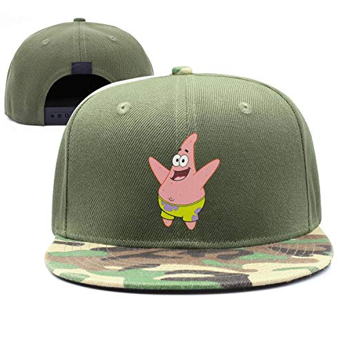 Shihangya Man Spongebob-Squarepants-Patrick-Star- Snapback hat Trucker Hats Baseball