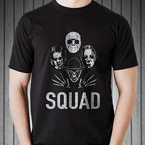 Horror Movie Squad Jason Michael Halloween 2018 Costume Customized Handmade T-Shirt Hoodie/Long Sleeve/Tank Top/Sweatshirt