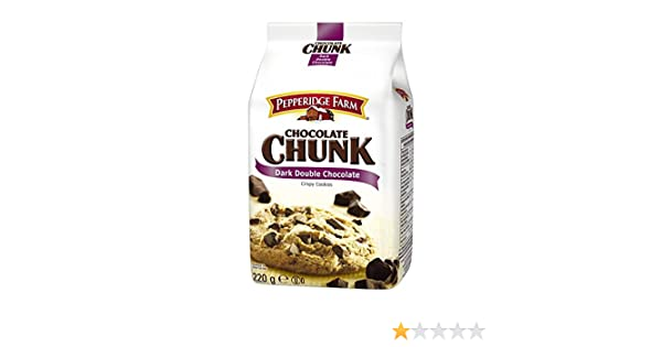 Pepperidge Farm, Galleta fresca de chocolate - 220 gr.: Amazon.es: Alimentación y bebidas