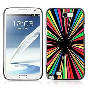 YOYOSHOP [Crazy Colors] Samsung Galaxy Note 2 Case