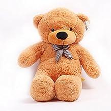 "39.3""(100CM) Teddy Bear Light brown Giant Big Cute Plush"