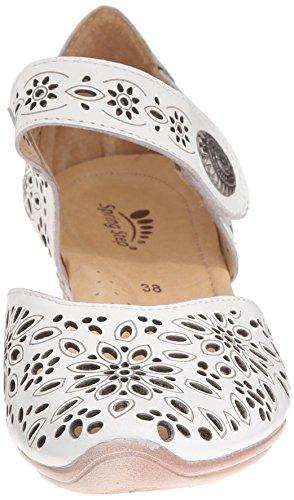 Spring Stap Vrouwen Noga Wigsandelhout Witte