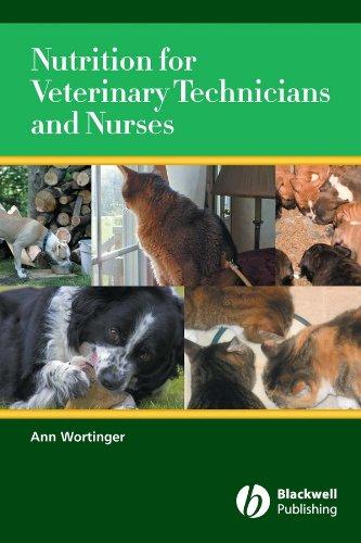 Nutrition for Veterinary Technicians and Nurses Pdf