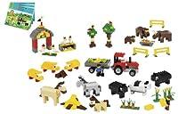 LEGO Education Animals Set For Farm, Sea, Desert & Dinosaur 779334 (1,081 Pieces) by LEGO Education