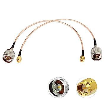 Eightwood Cable SMA 4G Adaptador de Antena LTE N a SMA RG316 ...
