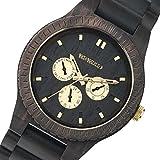 ウィーウッド WEWOOD 木製 メンズ 腕時計 KAPPA-BLACK-RO ブラック [並行輸入品]