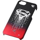 レイ・アウト iPhone SE/5s/5 キャラクター・グラデーション・シェルジャケット/スーパーマンロゴRT-WP5D/SM
