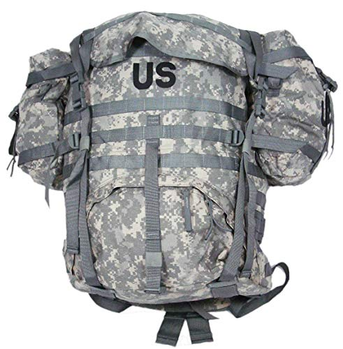 US Military Surplus MOLLE Rucksack Backpack ACU Camo Upgraded ALICE System