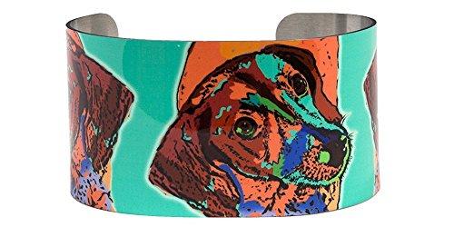 Hip Hound - Happy hound photo cuff bracelet