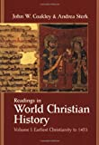 1: Readings in World Christian History
