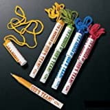"Fun Express ""God's Team!"" Pens on a Rope (1 Dozen)"