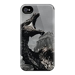 Goodfashions2001 Zdt22370QgTm Protective Cases For Iphone 4/4s(the Elder Scrolls V Skyrim)