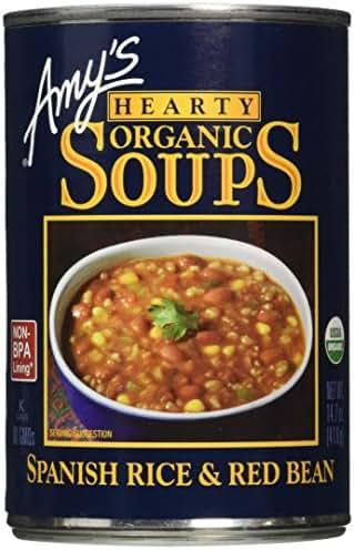 Soup: Amy's Hearty Organic Soups