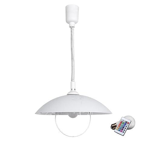 Techo luces colgantes resorte lámpara atenuadas lámpara de ...