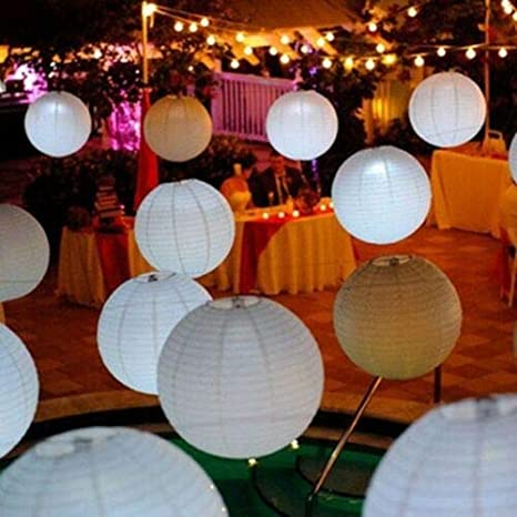 5pcs Set 8 Chinese Paper Lanterns For Wedding Party Home Decor