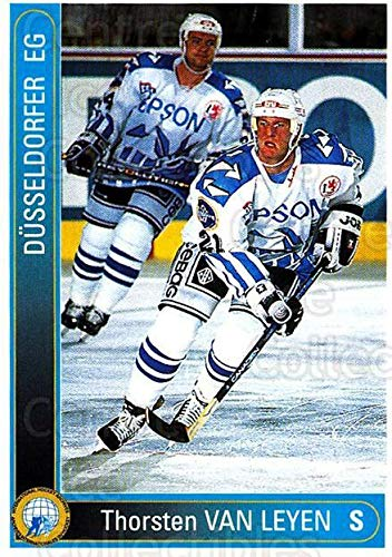 (CI) Thorsten Van Leyen Hockey Card 1994-95 German DEL 90 Thorsten Van -