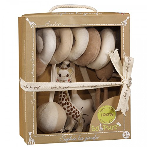 Vulli Sophie the Giraffe So'Pure Boulier Loop Activity Bar, Cream 15 oz (422 g)