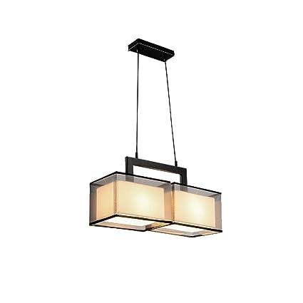 Lámpara De Techo De Tela, Tela Moderna Sala De Estar Mesa De ...