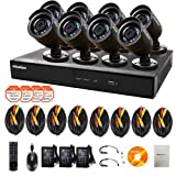 LaView Wide Screen 960H Security System 16 Channel 8 Cameras LV-KDV1608B6BP-1TB, Best Gadgets