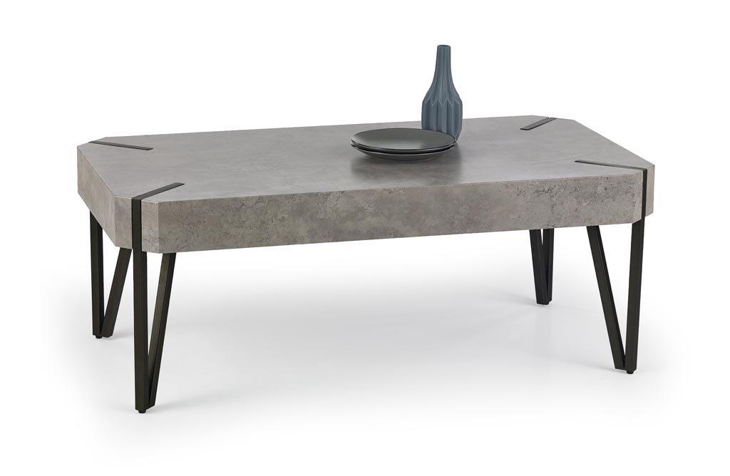 Couchtisch Wohnzimmertisch Tisch Betonoptik Stein Stein Betonoptik