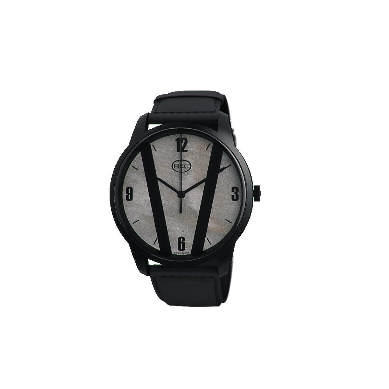 REC Herren-Armbanduhr Cooper C3 Analog Quarz Leder C3