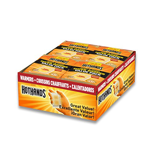HotHands Body & Hand Super Warmers - Long Lasting Safe Natur