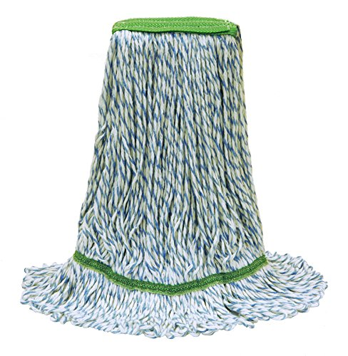 O'Cedar Commercial 97312 Finishing Loop-End Mop, Medium (Pack of 12) (Finishing Mop Head)