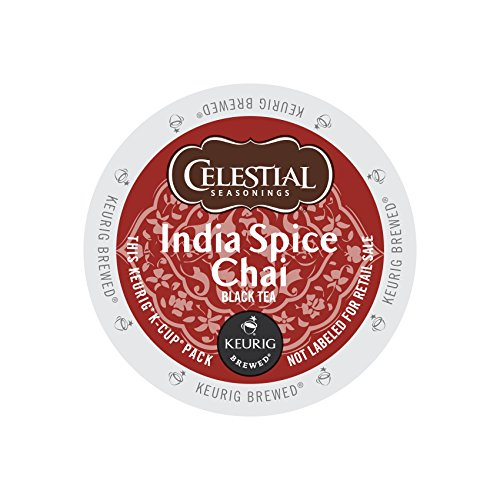Celestial Seasonings Black Tea Honey - Celestial Seasonings 14738CT India Spice Chai Tea K-Cups, 96/carton