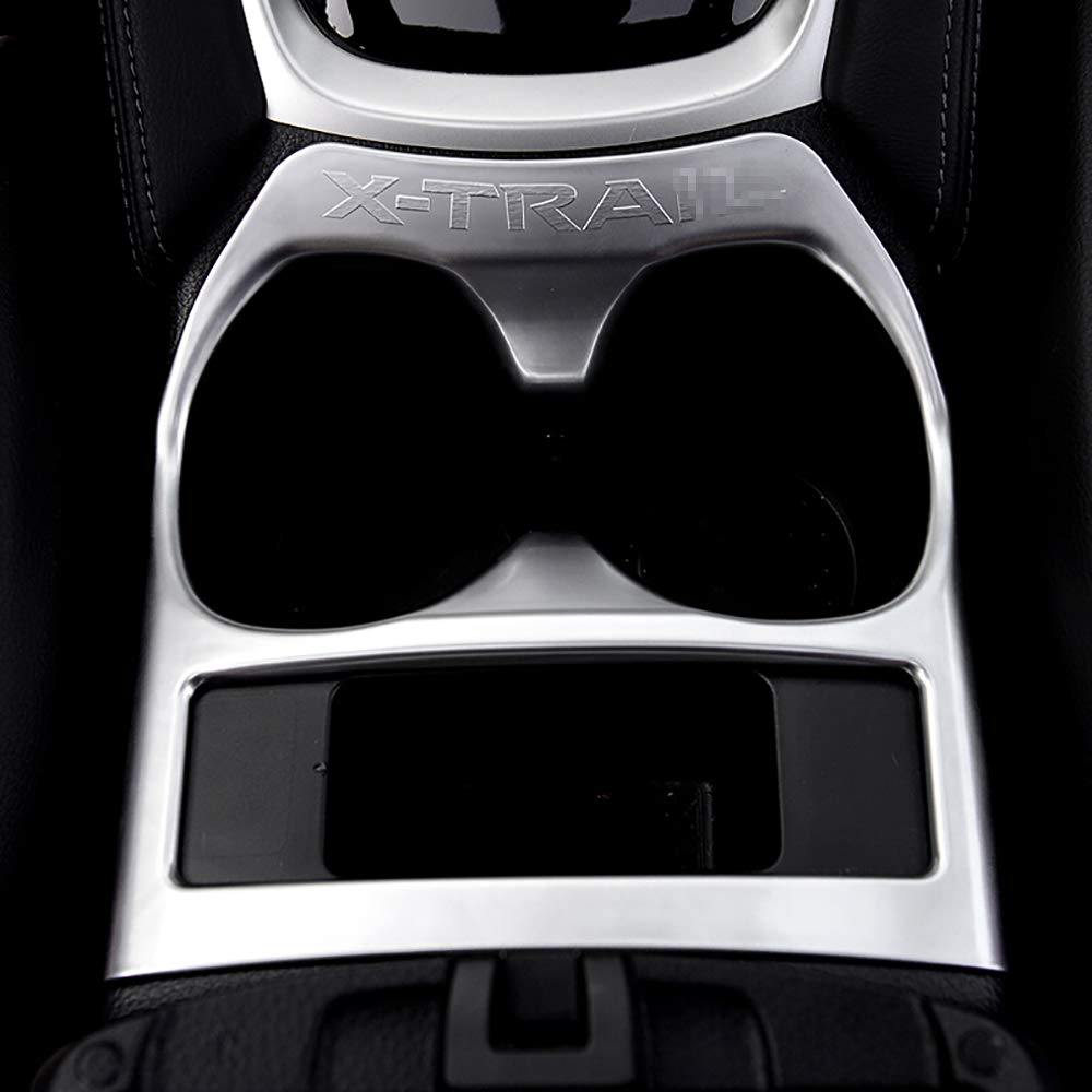 BeHave sbk71205w Telaio in Vetro Acqua Auto,Accessori Interni per Auto,Telaio di Protezione per Auto Chrome ABS 1 Pezzo Adatto per Nissan xtrail