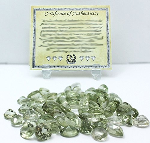 150 Carat Green Amethyst Natural Loose Gemstones Wholesale Lot w/ Beverly Oaks LLC Exclusive Certificate of Authenticity