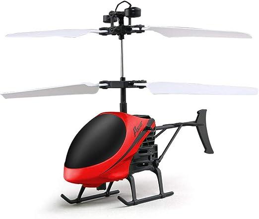 Mallalah helicóptero Mini Vol de inducción infrarroja Flying Toy Aspirador Juguete Regalo avión niño USB Recargable Mini Drone: Amazon.es: Hogar