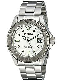 Invicta Men's 12838 Pro Diver Automatic Silver Dial Watch