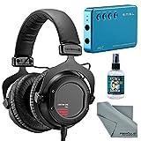 Beyerdynamic Custom One Pro Plus Headphones with Amplifier + Cleaner + Fibertique Cloth Bundle