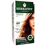 Herbatint, Permanent Herbal Haircolor Gel, 6N, Dark Blonde, 4.56 fl oz (135 ml) - 2pc