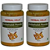 Herbal Hills Ambehaldi Powder - 100g each (Pack of 2)