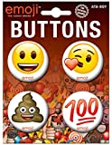 Ata-Boy Official Emoji Assortment #2 4 Button Set