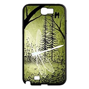 Beautiful Dragonfly The Printing Art Custom Phone For Ipod Touch 5 Case Cover diy ygtg-309169