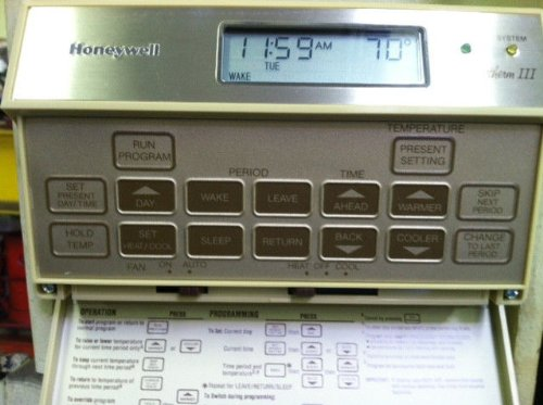 honeywell t8600c1162 thermostat chronotherm iii amazon co uk rh amazon co uk honeywell chronotherm iii manual english honeywell thermostat chronotherm iii manual