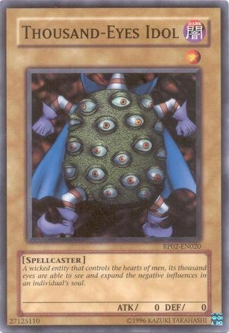 Yu-Gi-Oh! - Thousand-Eyes Idol (RP02-EN020) - Retro Pack 2 - Unlimited Edition - Common